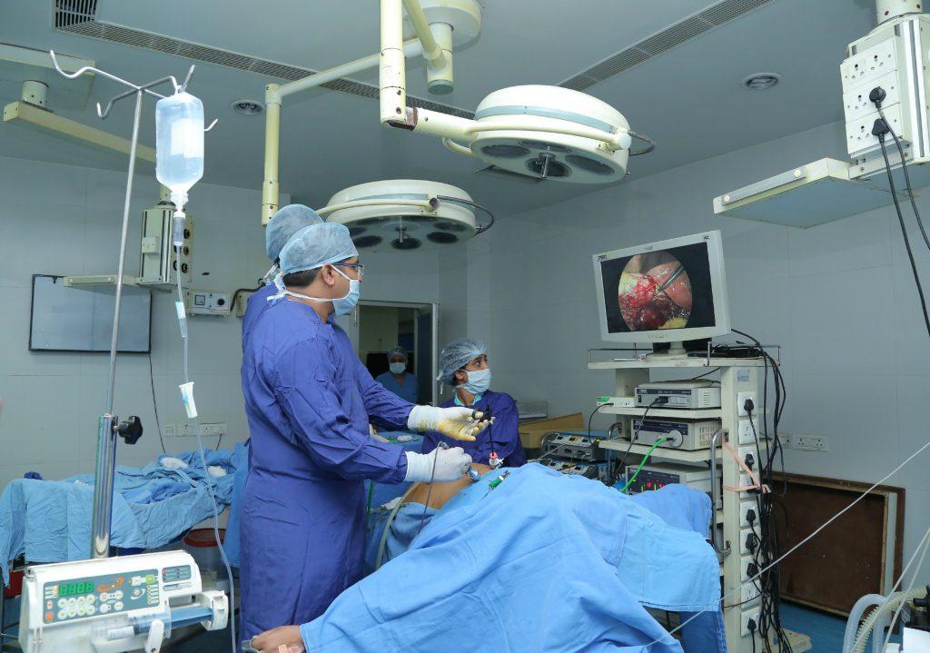 это лапароскопическая операция