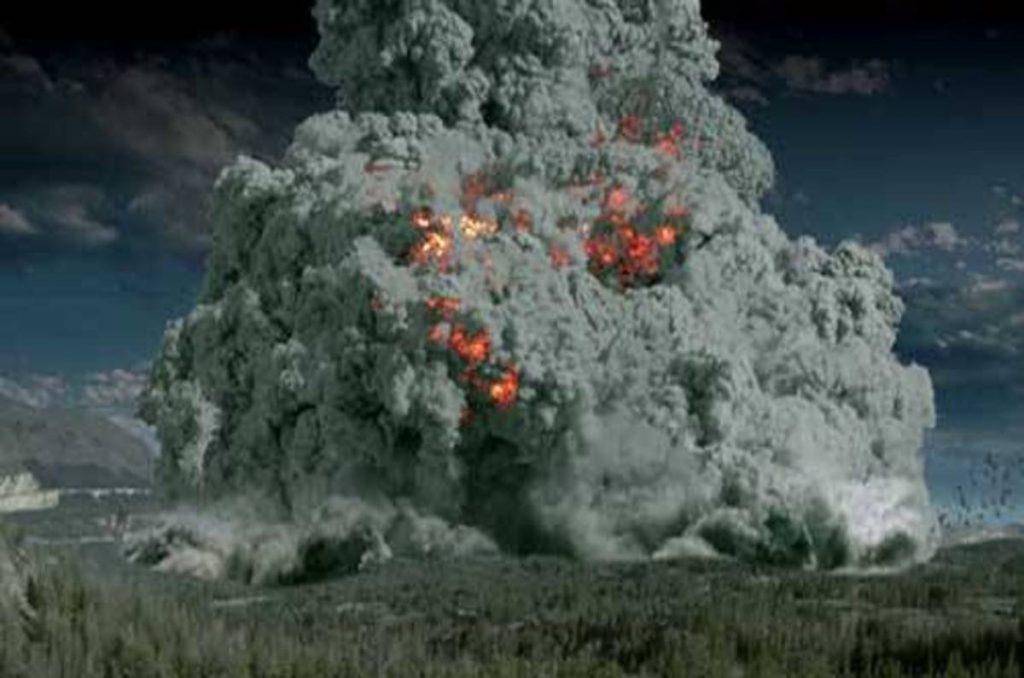 извержение будет убивать все живое