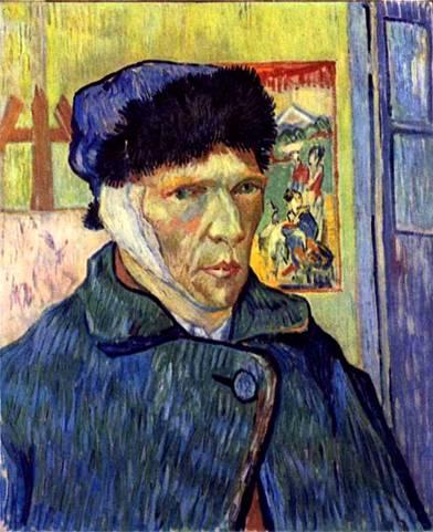 убивший себя Ван Гог