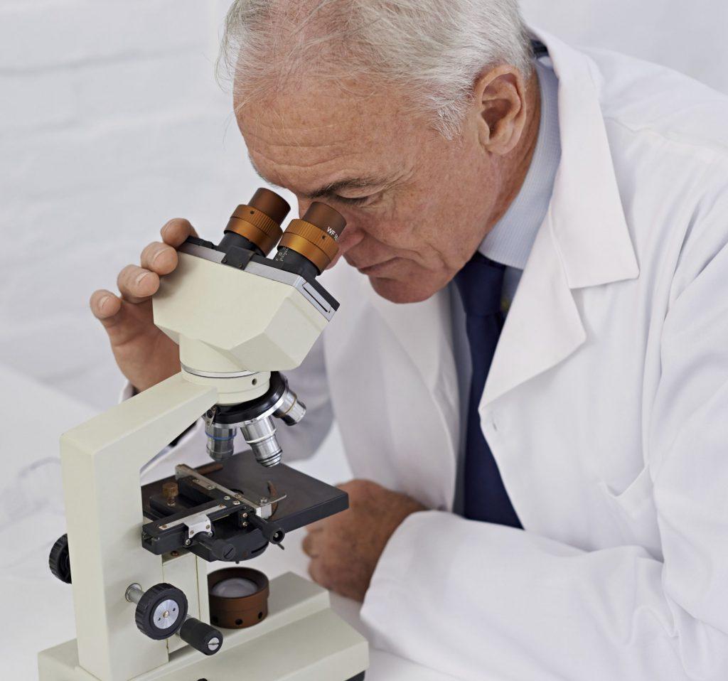 клетки опухоли при микроскопии