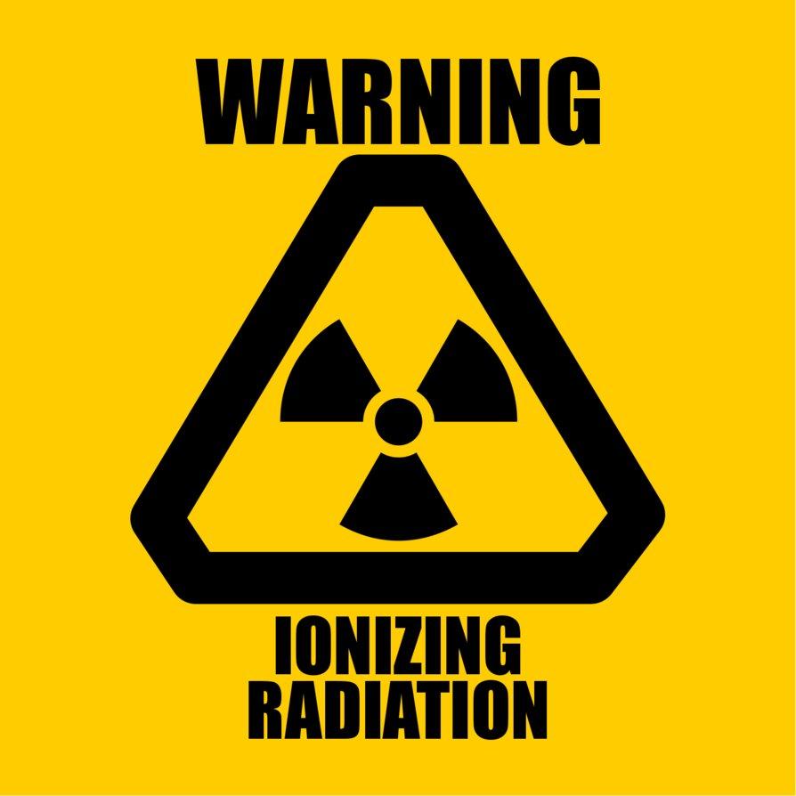 знак радиактивности