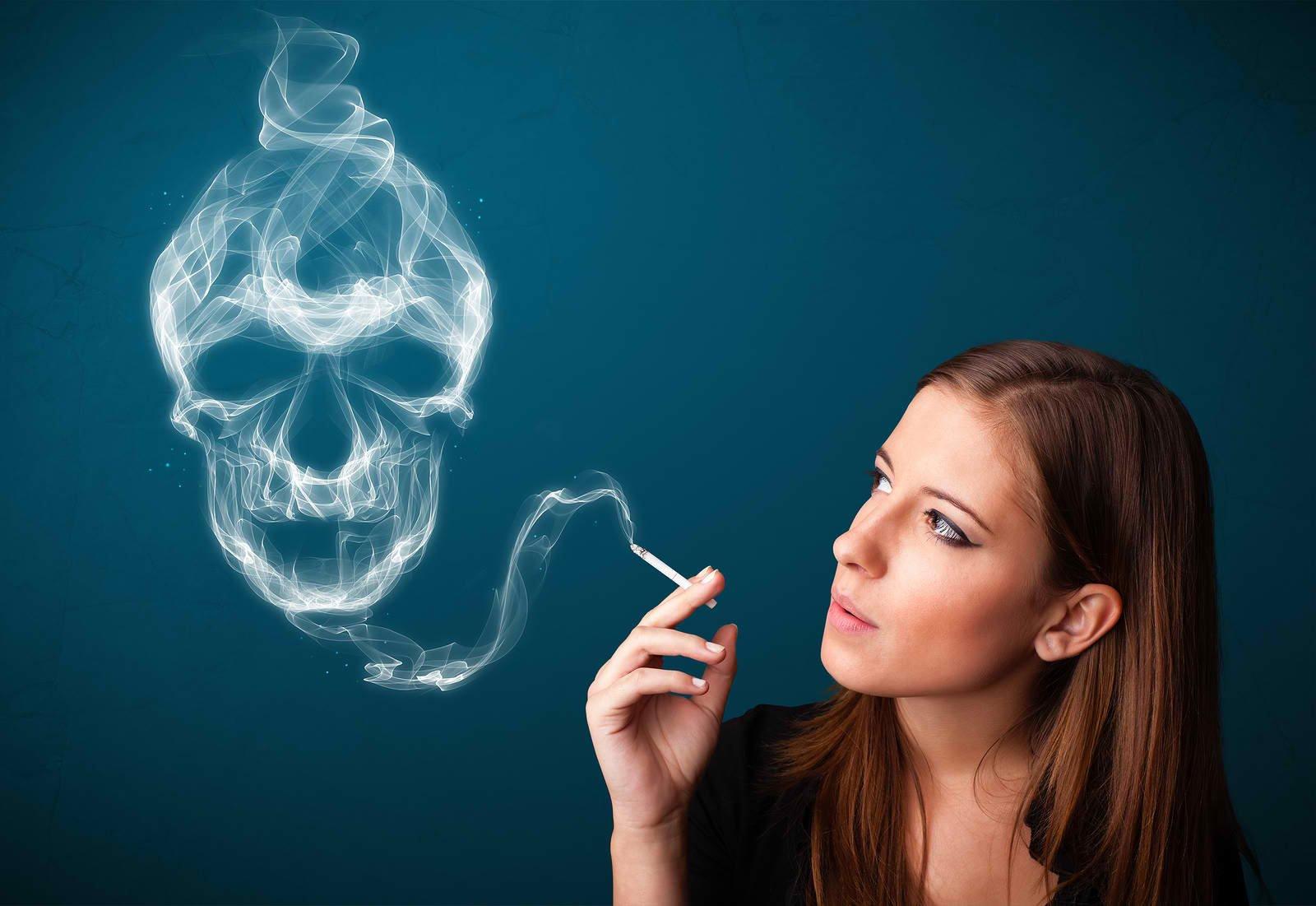 смертельный вред табакокурения