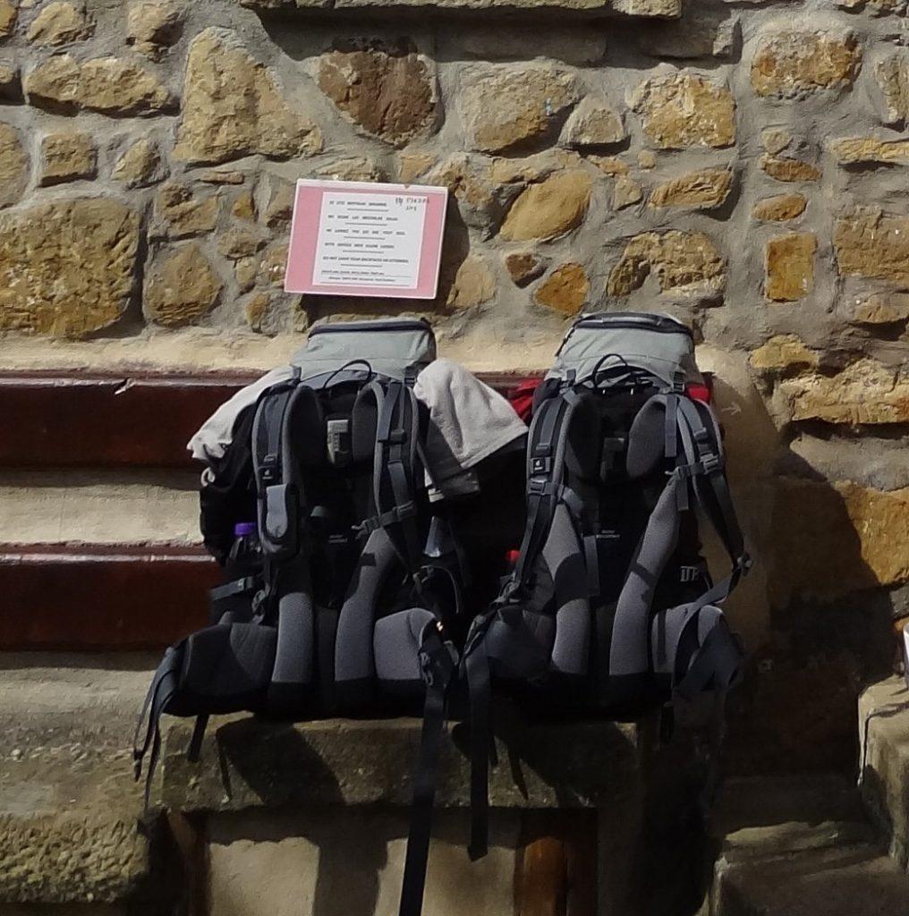 рюкзак для камино