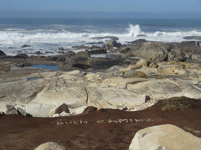камни пляжа