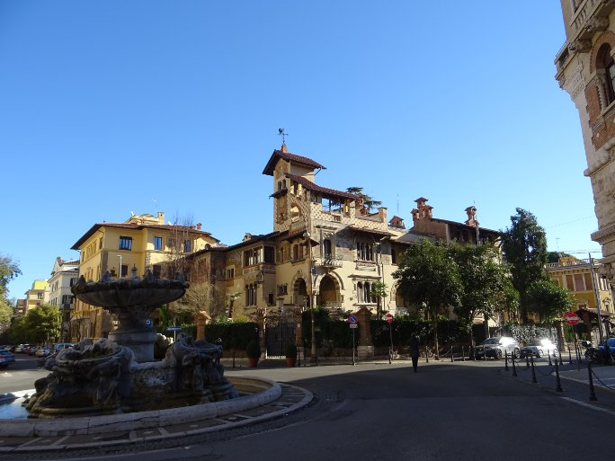 фонтан и площадь