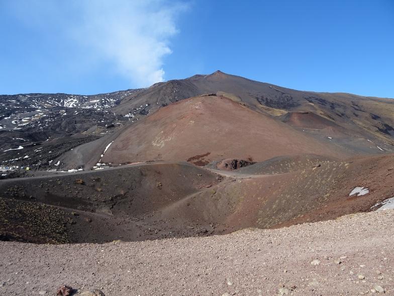 активный вулкан этна