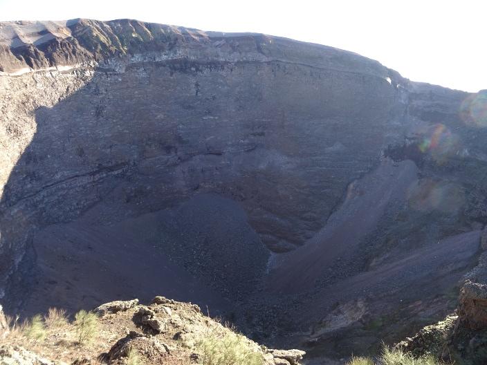 кратер Везувия