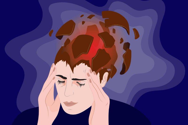 снять приступ головной боли